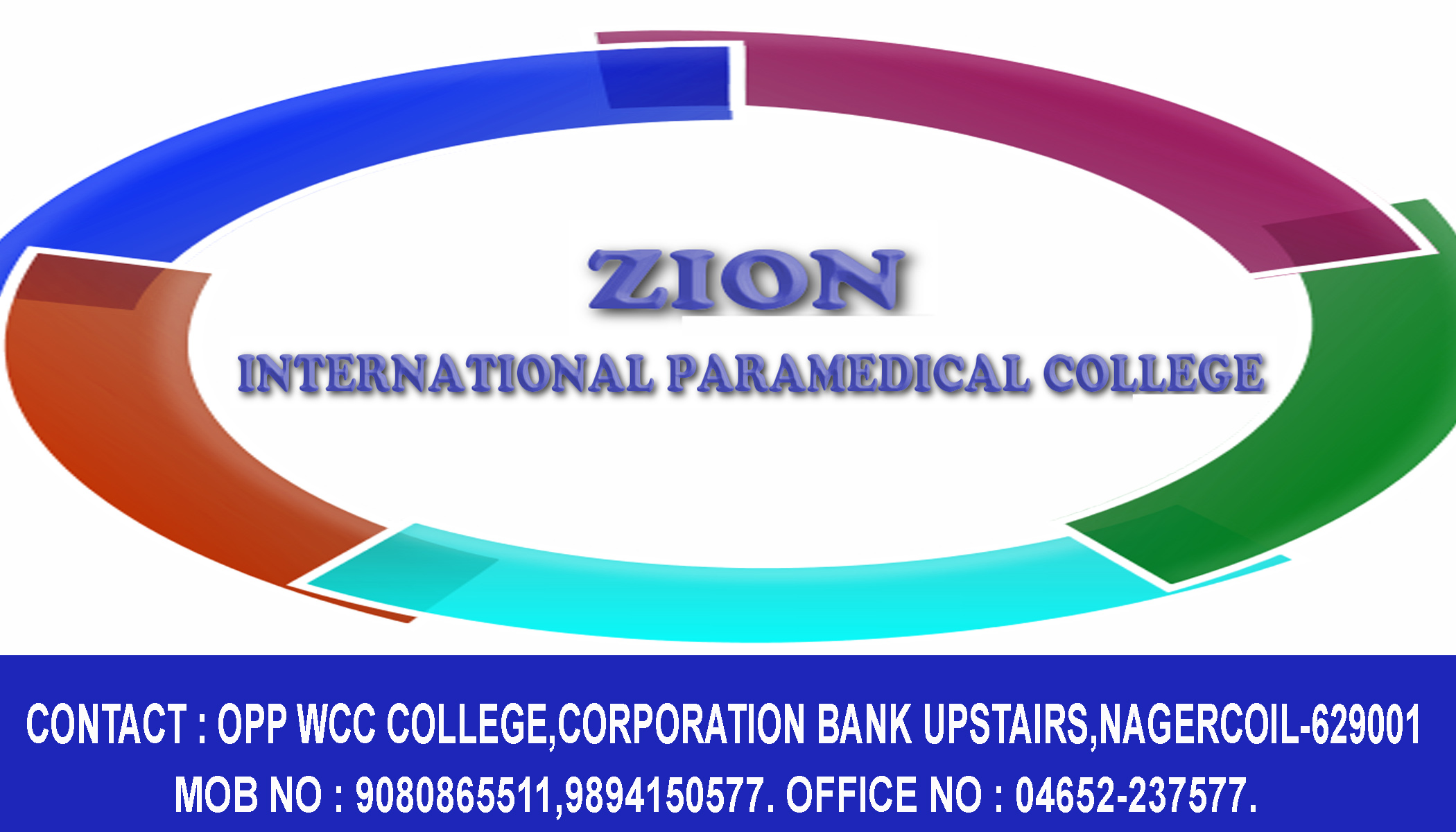ZION INTERNATIONAL PARAMEDICAL COLLEGE