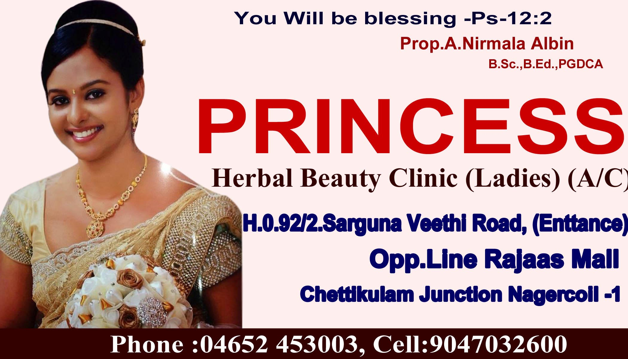 PRINCESS HERBAL BEAUTY CLINIC A/C